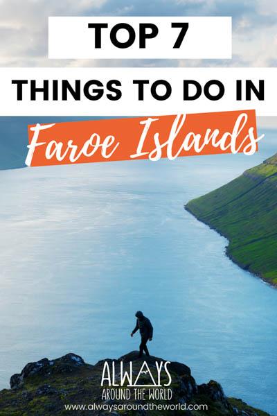 Things to do Faroe Islands
