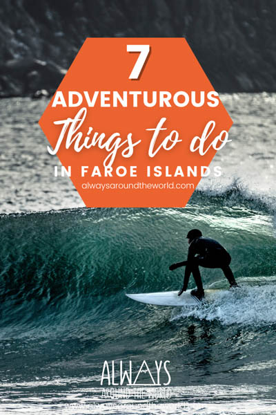 Pin Adventurous things Faroe Island