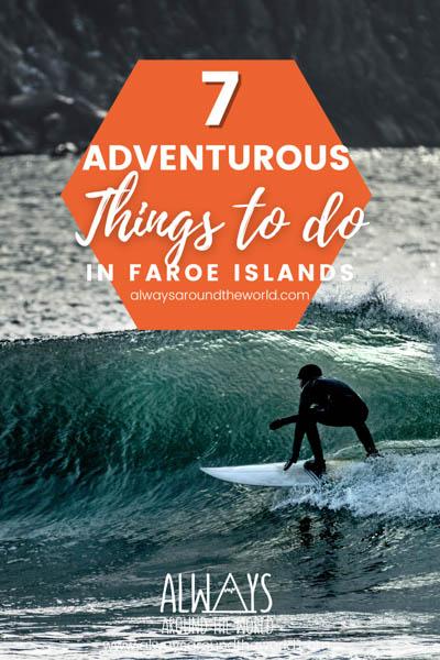 Pin Adventurous things Faroe Island