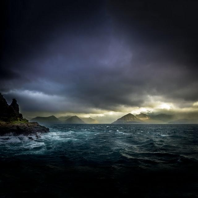 Bad weather Faroe Islands