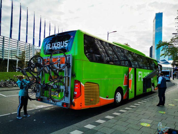 Flixbus Cycling trip