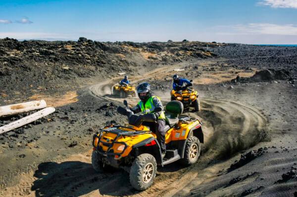 Iceland tour lava