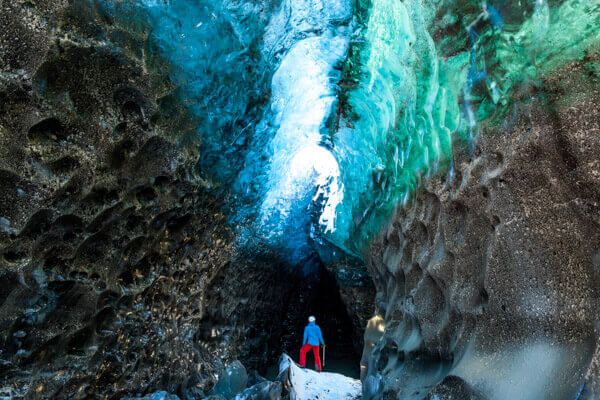 Ice Cave Winter Iceland