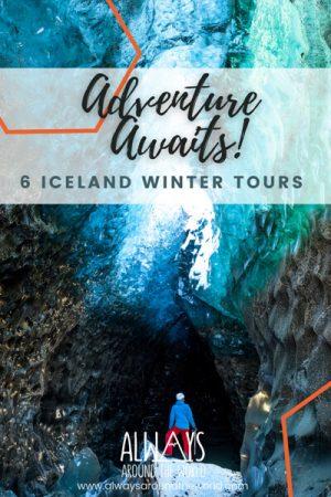Iceland Winter tour pins
