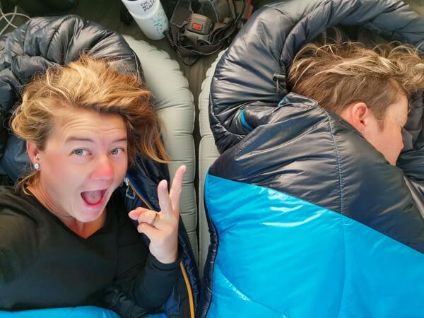 Sleeping bag North Face