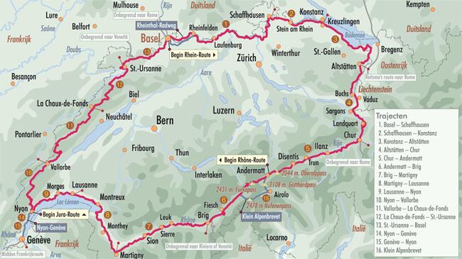 Switzerland Cycling