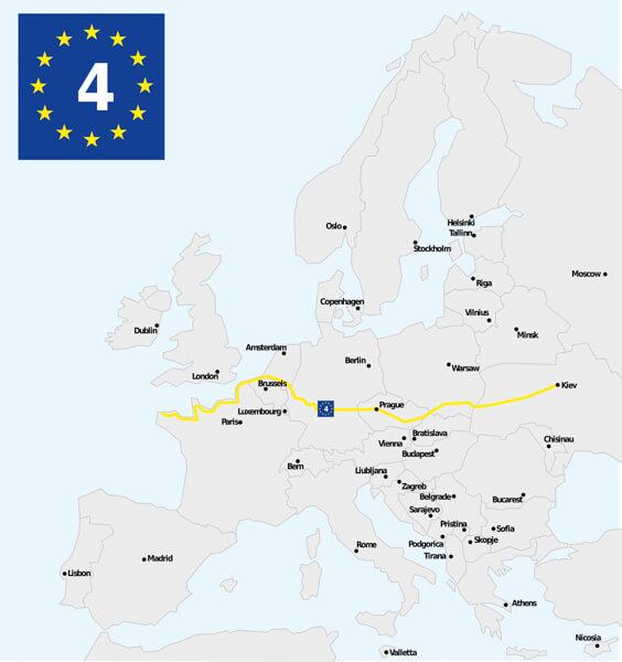 Eurovelo 4 - Cycling Europe