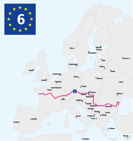 Eurovelo 6 - Cycling Europe