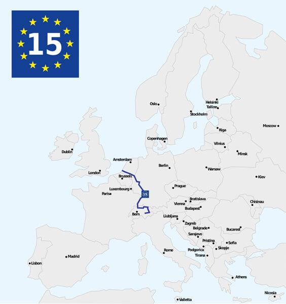 Eurovelo 15 - Cycling Europe
