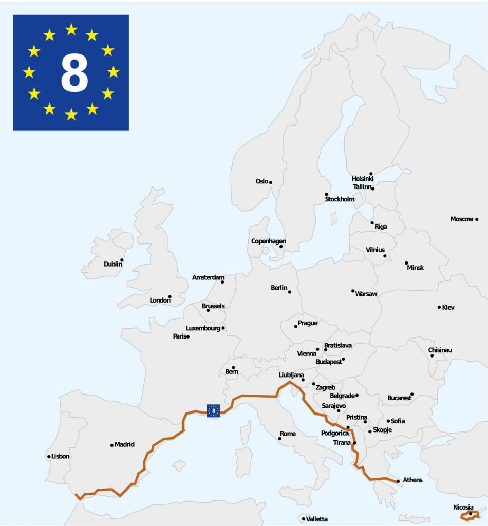 Eurovelo 8 - Cycling Europe