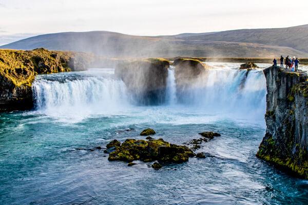 Godafoss Iceland Waterfall