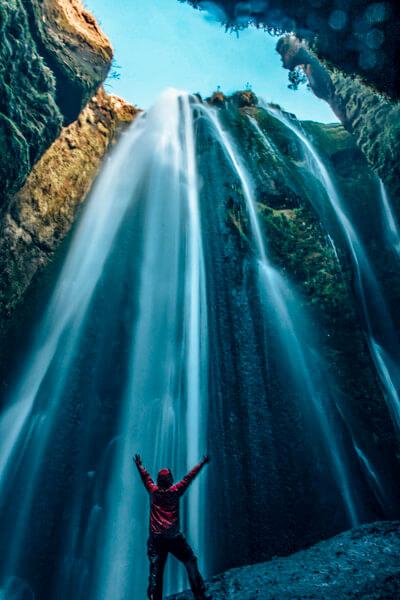 Gljufrabui Iceland Waterfall