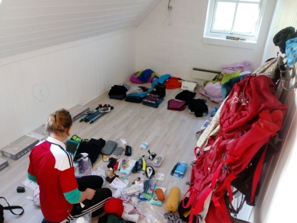 Packing cubes for packing backpack #backpacking #packing #packingcubes