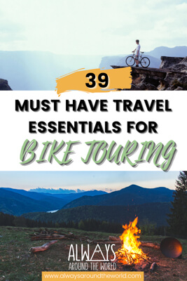 If you're stuck on what gear, tools, or clothing to pack, check out this ultimate bikepacking gear checklist with unmissable bike touring essentials. #biketouring #bikepacking
