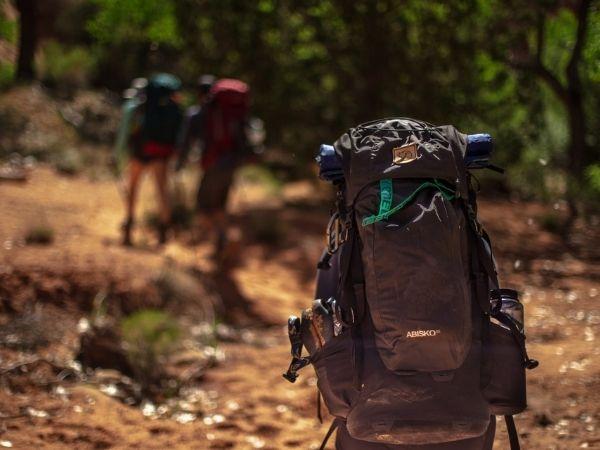 External pockets backpack #backpacking