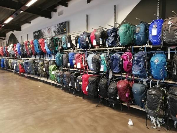 Buy a backpack