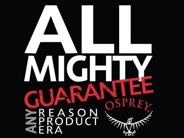 Osprey Guarantee