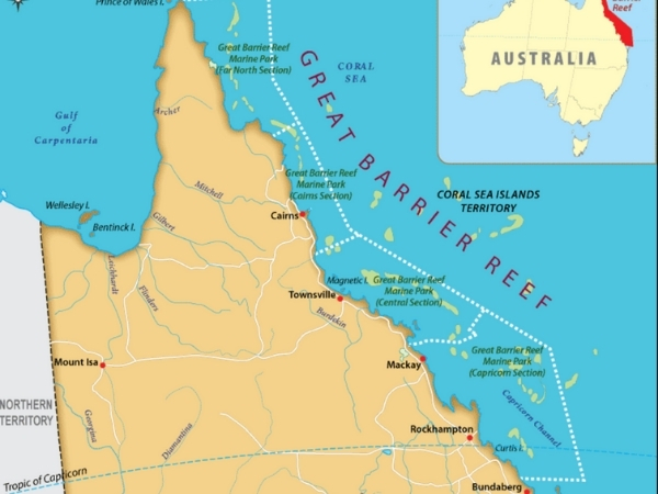 Great Barrier Reef Location