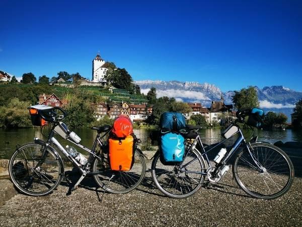 Bike touring bags