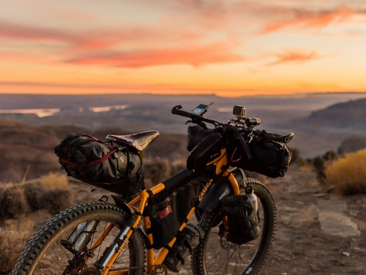 Bikepacking vs bike touring