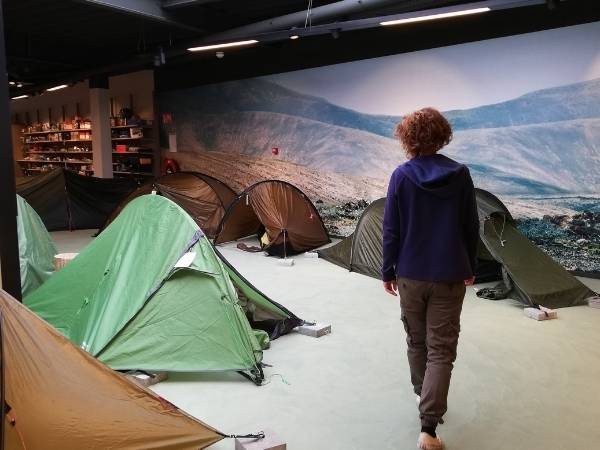 Look for a new lightweight backpacking tent