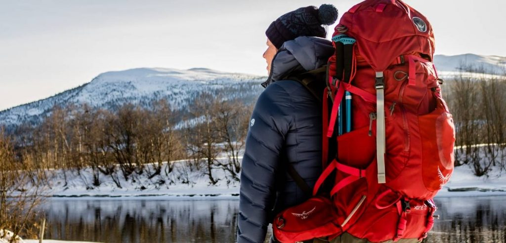 Osprey Xena 70 Backpack for adventurous women