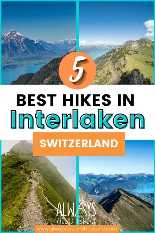 Interlaken hiking trails Switzerland #switzerland #interlaken #hiking