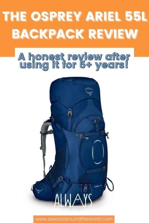 Review Osprey Ariel 55 Women's Backpack #backpack #osprey