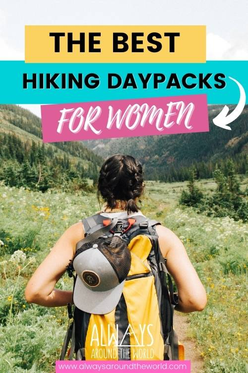 Best Daypacks for hiking and travel for women #daypacks #hiking