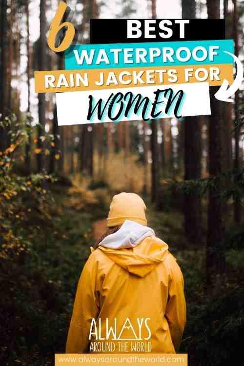 Best Rainjackets for women #raincoat #rainjacket #waterproof