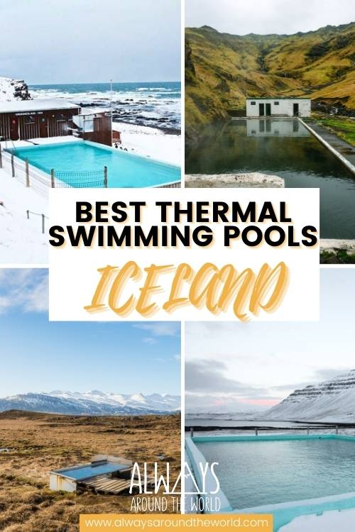 Best thermal swimming pools in Iceland #iceland #swimming