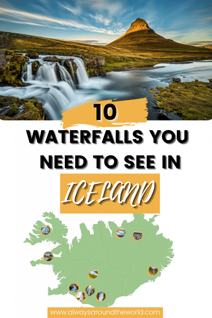 10 must-see waterfalls in Iceland