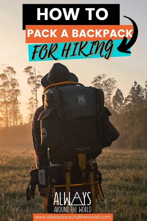 How to pack a backpack for hiking #packing #backpacking #hiking