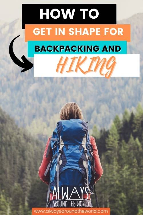 How to efficiently train for backpacking and hiking  #backpacking #hiking #training