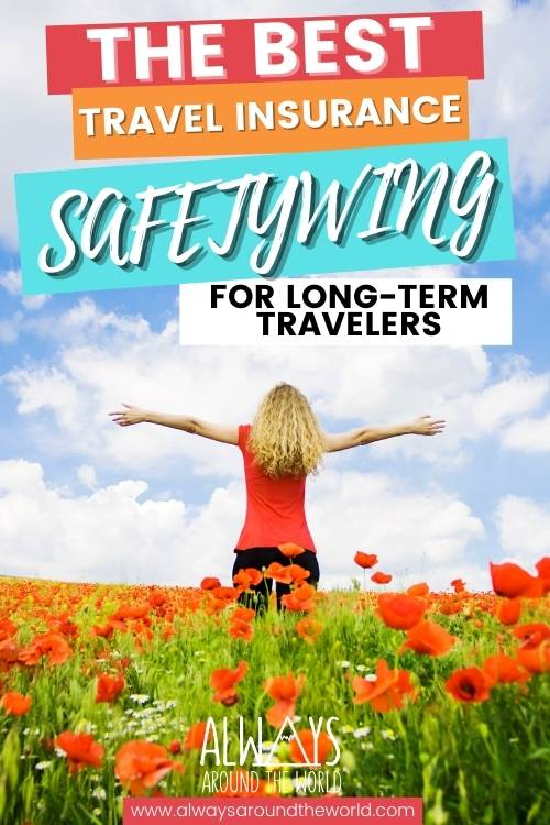 SafetyWing Travel Insurance for long-term travelers and digital nomads