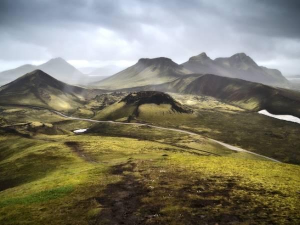 Landmannalaugar hike in Iceland