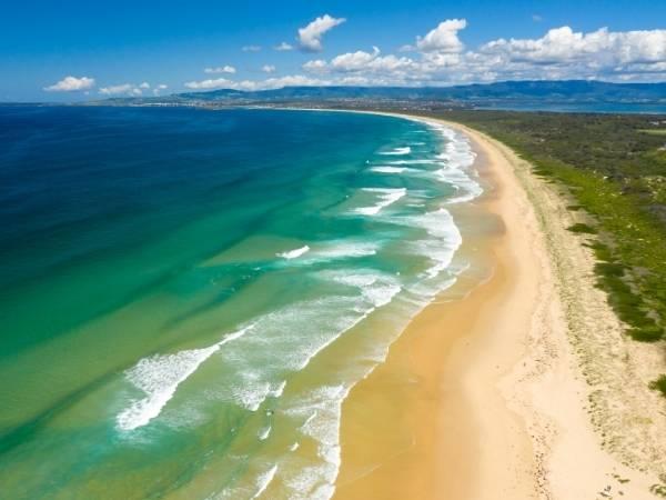 Beach NSW Australia Hiking