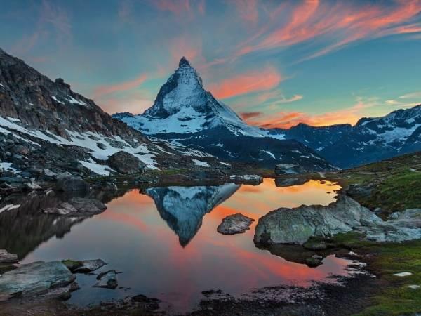 5 lakes walk Zermatt