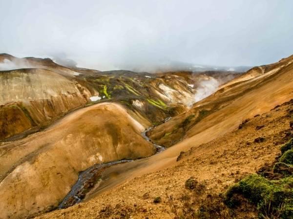 Landscapes - Landmannalaugar Hikes in Iceland