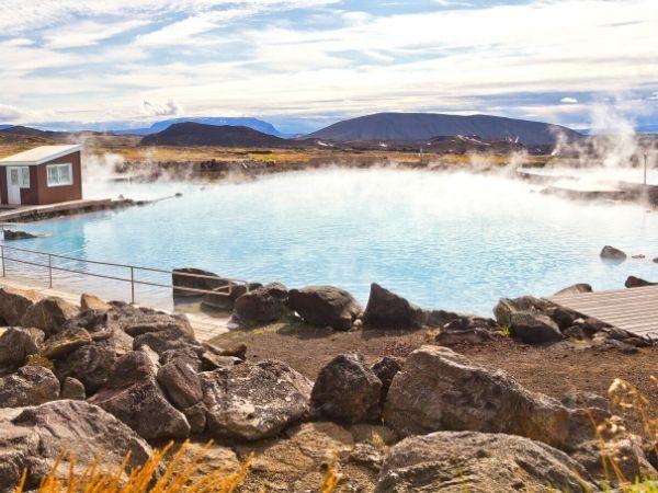 Bath Myvatn Iceland