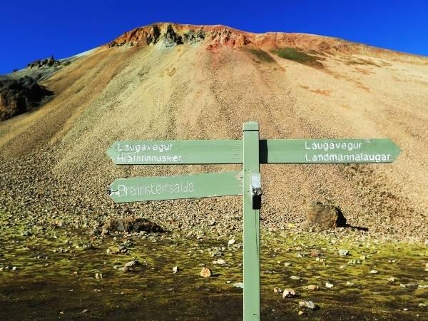 Brennisteinsalda hike in Iceland
