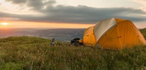 Camping wild
