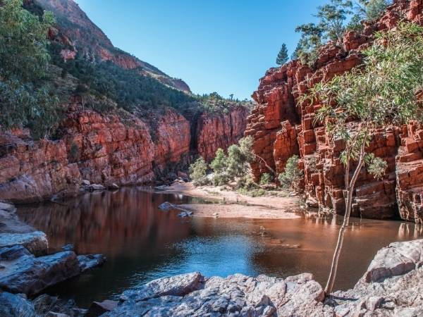 Central Australia Hiking