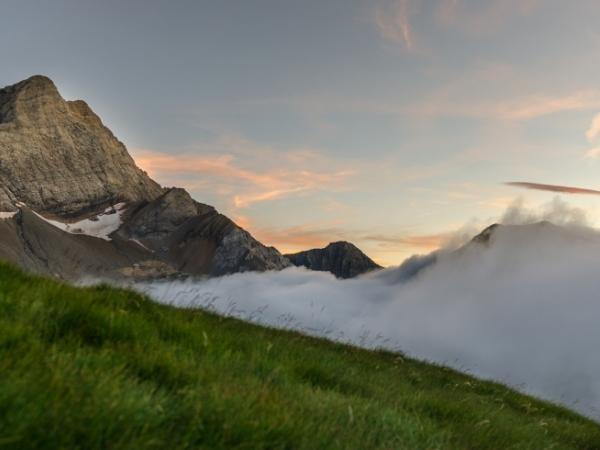Col de Puymorens mountain spain