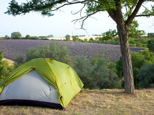 France Camping farm for free