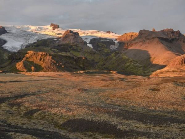 Háalda mountain Iceland