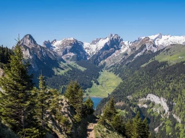 Hiking Alpstein