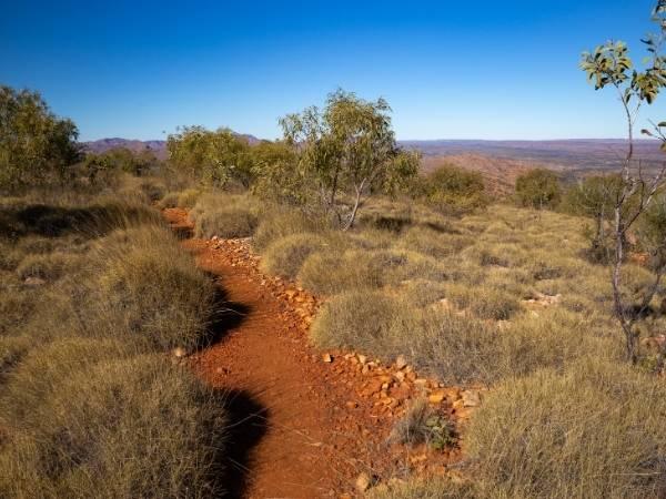 Hiking Central Australia