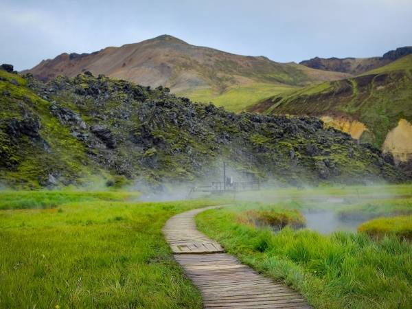 Hot spring Landmannalaugar