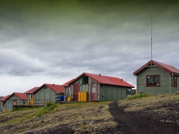 Huts Laugavegur Iceland